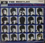 The Beatles, A Hard Day's Night, 1964, album cover