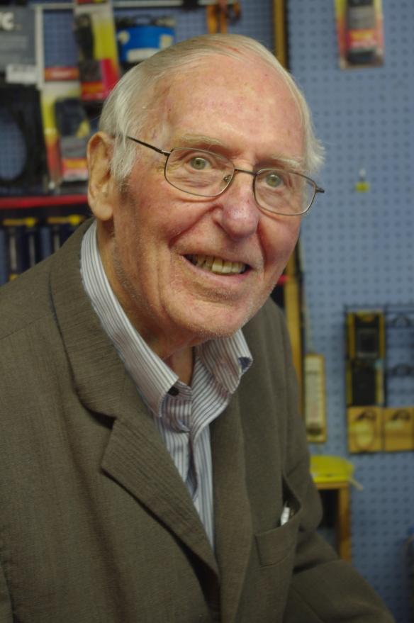 Ellis Bevan in 2012